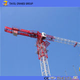 Grues à tour de construction de grue à tour de torse nu du model 6515 de 10 tonnes