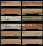 azulejo de suelo de madera del grano de la inyección de tinta 3D 150*600 Rd16013