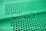 Hoja plástica de la absorción de agua de UHMW-PE con el orificio