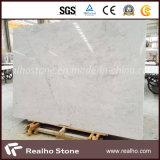 Nuove mattonelle di marmo bianche di Volakas per la pavimentazione e la parete
