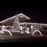 عيد ميلاد المسيح زخرفة فندق خيط ضوء ساحر خيط أضواء