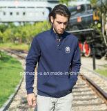 Mens frais Stand Collar Pullover avec Custom Print Logo