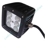 24W 10-30V Squar LED Work Light Spot Car Light