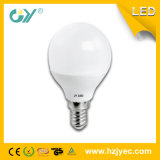 공장 공급자 G45 E14 3W 4W 5W 지구 LED 전구