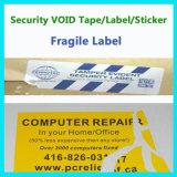 Collant fragile fait sur commande de joint ; Étiquette d'interpréteur de commandes interactif d'oeufs