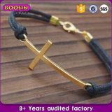 Form-heißer Verkaufs-kundenspezifischer Anker-Charme-preiswertes buntes Seil-Armband