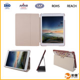 Design quente Caso para o iPad 6, plutônio para o iPad Air Leather Caso