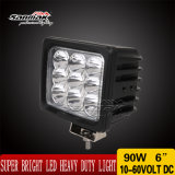 6'' 90W Super Bright CREE Heavy Duty LED Work Light