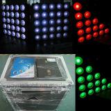 Matriz DMX do diodo emissor de luz da iluminação 5X5 do estágio do RGB 3in1 do disco do DJ