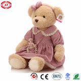 빨간 장난감 곰 소녀 사랑스러운 Bestever Toy60cm