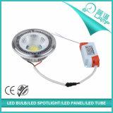 220V AR111 Gx53 12W 옥수수 속 LED 스포트라이트