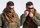 Shemaghの軍の防風の戦術的な砂漠のアラビアのHijabsの綿のアラビア語のスカーフ