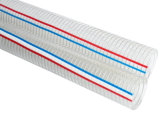 """1/2 """" - """" fibre de PVC 8 et fil d'acier a renforcé/boyau renforcé fil d'acier de spirale"""