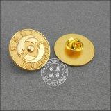 O Pin de organização feito sob encomenda, ouro chapeou o emblema do metal (GZHY-CY-023)