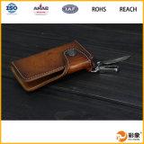 2016hot продавая мешок способа кожаный ключевой, мешок ключа автомобиля человека