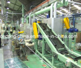 Machine de mise en gaine d'extrusion de fil continu