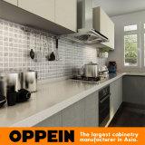 Armadio da cucina di legno della melammina di progetto Oppein (OP15-M01)