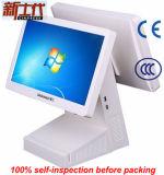 Registratore di cassa di posizione del registratore di cassa con uno schermo doppio da 15.6 pollici
