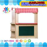 Chambre en bois de jeu de /Children de maison de théâtre de gosses