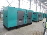 sistema de generador diesel silencioso 200kVA del pabellón trifásico de la utilización del suelo
