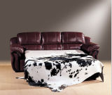 Modernes Leather Sofa Bed für Wohnzimmer Sofa Furniture