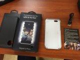 Caisse de téléphone avec l'éclairage LED blanc pour iPhone5S/I6/6plus