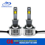 Auto Lighting Car Luxeon LED Headlight 30W 3200lm H3 LED Car Headlight, Motorcycle LED Headlight, 6V LED Headlight