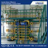 De ruwe Installatie van de Raffinaderij van de Olie van de Kokosnoot met Opdeling