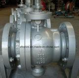 тип шариковый клапан Wcb литой стали 150lb плавая конца фланца