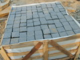 自然なBlack BasaltかSlate/Tumbled/Sandstone/Porphyr/Granite Stone Pavement/Cubes/Blind/Paver Stone/Paving Stone