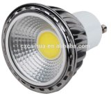 セリウムRoHSが付いているDimmable 3W GU10 COB LED Spotlight