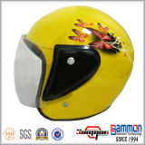Heet op Helm van de Motorfiets van het Gezicht van de Verkoop de Halve (OP213)