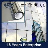 銀製ミラーの一方通行の視野のプライバシーの反射建物のWindowsのフィルム