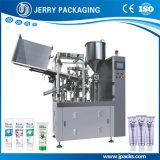 Enchimento da câmara de ar do dentífrico automático & máquina compostos plásticos de alumínio da selagem
