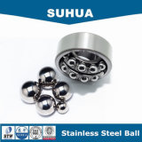 Tipo 304 sfera d'acciaio solida dell'acciaio inossidabile AISI delle proprietà