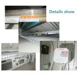 Dobrador automático de dobramento manual da máquina do metal de folha da base para a lavanderia de Hostipal do hotel