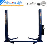 Dois Post Car Hydraulic Lifts com Floor Plate