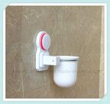 Support de balai fixé au mur de toilette de salle de bains avec la cuvette d'aspiration