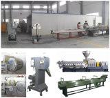 A extrusão plástica usada faz à máquina o equipamento para a linha do Água-Anel