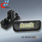 luz da chapa de matrícula do diodo emissor de luz 18SMD auto para o Benz W220 99-05 (S-classe) W220 Amg
