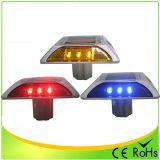 Gelber LED-Katzenauge-Solarstraßen-Stift-blinkendes Licht