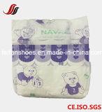 Backsheetの赤ん坊のおむつ布のようにすべてのサイズOEMは、使い捨て可能な赤ん坊の心配の製品、魔法テープ通気性の赤ん坊のおむつ卸し売りする