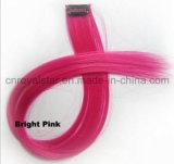 La Non-Corrente principale di colore di modo evidenzia clip della fetta dei capelli la singola nell'estensione dei capelli
