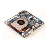 Intel Haswell I5-4200u Nvidia Gt730 encaixou o indicador 4k Cheio-HD do mini cartão-matriz industrial do Itx