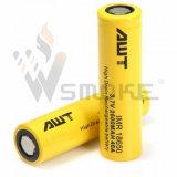 Batteria 18650 dello Li-ione di Awt 18650 2600 batteria ricaricabile di mAh 40A