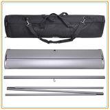 Rullo di alluminio in su la visualizzazione della bandiera per la campagna promozionale