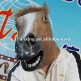 Máscara principal completa de la máscara material de la ocasión de Víspera de Todos los Santos y del caballo de la máscara del látex de caucho de la máscara del látex