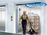 貨物製造業者の倉庫のエレベーターの貨物上昇