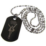 Custom Metal Silver Dog Tag for Pets