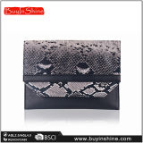 Form-Pythonschlange-Leder-Frauen-Handtasche